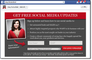 Amy-Porterfield-Facebook-custom-tab-to-capture-and-integrate-email-marketing-on-Facebook
